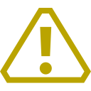 Moderate Warning Icon